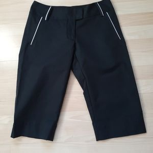 Adidas black Bermuda golf shorts size 4